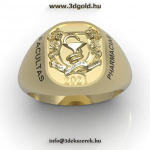 Gyógyszerész Pecsétgyűrű