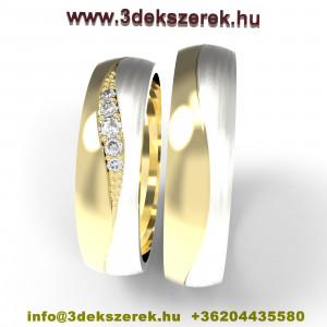 Álomszép karikagyűrű pár